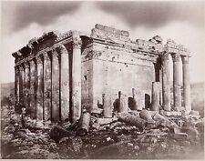 Baalbek Liban Syrie Photo Albumine Tirage vers 1890 petit format