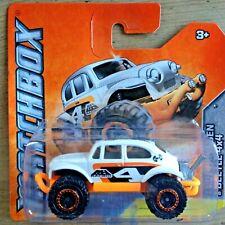 Matchbox  Volkswagen 4x4 Beetle - white/orange