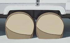 "4 ADCO DESIGNER TIRE COVERS  Motorhome RV Bus 40"" to 42"" diameter 3 yr warranty"