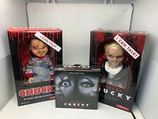 Chucky Figuren 3-er Set B-Ware Actionfiguren Horror Film Klassiker Movie OVP !