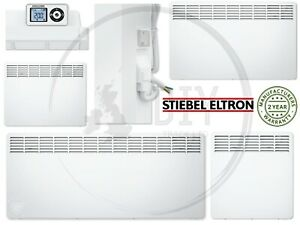 Stiebel Eltron Electric Convector Panel Heater Timer Thermostat Wall Mounted Eco