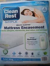 Clean Rest Simple Bed Bug & Allergen Blocking lHotel King Mattress Encasement