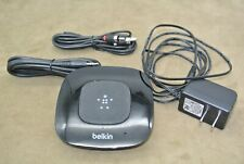 BELKIN HD Bluetooth Music Audio Receiver G3A2000 RCA Power Cord Fully Functional