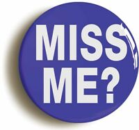 MISS ME MORIARTY SHERLOCK HOLMES BADGE BUTTON PIN (Size is 1inch/25mm diameter)