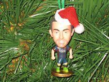 Xavi Custom Christmas Ornament Barcelona kit or Spain kit