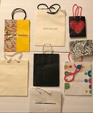 11 Assorted Shopping Paper Bags