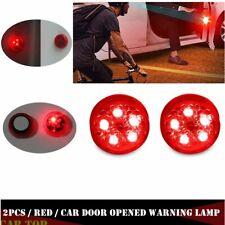 2 X Car Door Anti Collision Light Safe Warning Lamp Auto Strobe Car Flashing LED
