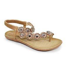 Lunar Charlotte Womens Black or Tan Summer Sandals Size 3 4 5 6 7 8 Slingbacks UK 3 Black