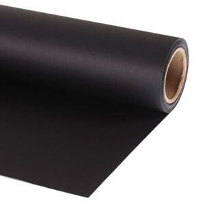 Lastolite Background Paper Roll Black LL LP9020 90cm x 11m