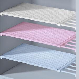 Adjustable Closet Cupboard Storage Shelf Extendable Organizer Divider Shoe Rack