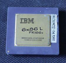 Socket 7 CPU - IBM 6x86L PR166+ - 66MHz bus - TESTED