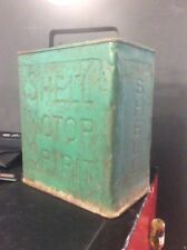 Shell Motor Oil Can Vintage Oil Can