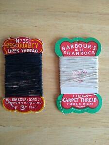 Barbour's Linen Thread.