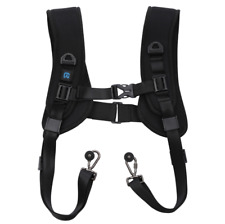 PULUZ Quick Release Double Shoulder Harness Soft Pad Decompression for Camera