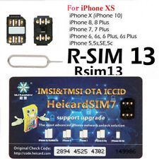 Heicard Turbo SIM Card Unlock Nano-SIM for iPhone XS/8/7/6S/6S Plus IOS 12 4G