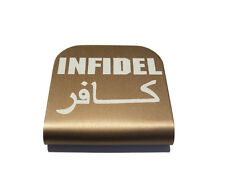 Infidel Copper Hat Clip for Tactical Patch Caps by Morale Tags