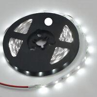 Strip LEDs Licht Streifen 5m Band Leiste mit 300 LEDs Weiß(SMD 3528) DC 1 2018