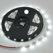 DC 12V White LED Strip Light Strip 5m Ribbon Strip with 300 LED Flexible  U A3D9