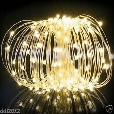 Solar Powered 200LED Fairy String Lights Christmas Wedding Party Decoration