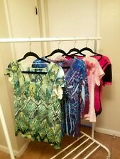 WOMEN'S CLOTHING Lot of 4 Embellished Tops, Dress Barn, JM Collection Size L