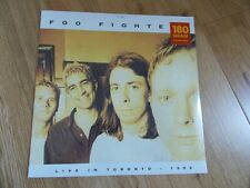 Foo Fighters. Live in Toronto 3rd April 1996 -  COLOURED VINYL LP NEW SEALED