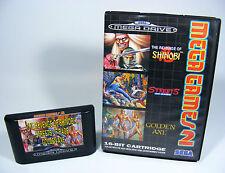 Mega GAMES 2 per Sega Mega Drive MD solo con modulo Senza Scatola Originale Istruzioni Golden Axe