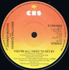 You're All I Need To Get By 7 : Johnny Mathis