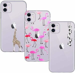 BAOWEI [3 Pack] for iPhone 11 Case, Ultra Thin Crystal Clear Soft TPU Silicone C