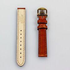 Nuova Movado Cinturino In Pelle Marrone con fibbia 13mm x 12mm