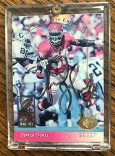 Derrick Thomas, Signed 1993 Upper Deck, #125 Kansas City Chiefs, Pro Bowl Card