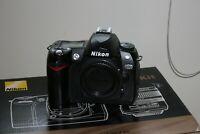 Fotocamera Nikon D70 reflex digitale macchina fotografica corpo macchina (d80)