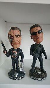 NECA - Terminator - T2 & T3 - T-800 Head Knockers (No Box)