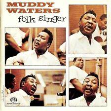MUDDY WATERS Folk Singer RARE OOP SUPER AUDIO SACD DISC Bonus Tracks Sealed