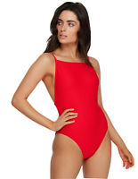 RRP $89.99 NWT Size 8 Women/'s RVCA July Colorblocked Crop Bikini Swimsuit