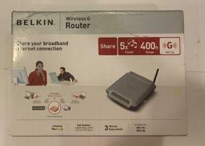 Belkin Wireless G Router F5D7230-4 400FT Range