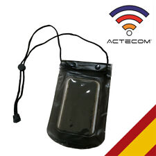 FUNDA WATERPROOF NEGRA RESISTE AGUA SMARTPHONE MOVIL MP3 PISCINA SUMERGIBLE