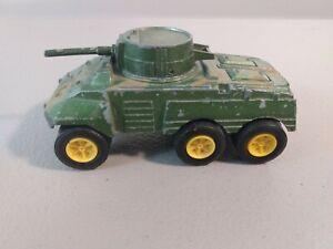VINTAGE TOOTSIETOY M-8 DIECAST ARMORED CAR