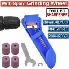 Portable Drill Bit Sharpening Diamond Corundum Grinding Wheel Power Sharpener.