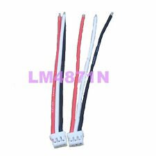 2pcs E-Flite Beast Sbach UMX Female (Battery Side) Connector 22awg 10cm