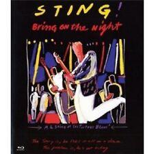 "STING ""BRING ON THE NIGHT"" BLU RAY NEW+"