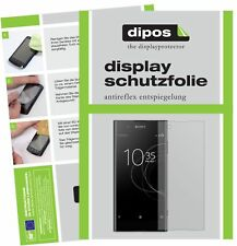 2x Sony Xperia XA1 Plus Film de protection d'écran protecteur antireflet dipos