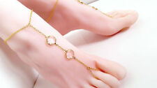 Glass Alloy Fashion Anklets