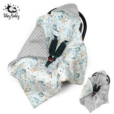 Einschlagdecke für Babyschale Maxi Cosi Babydecke Kinderwagen Decke Fußsack