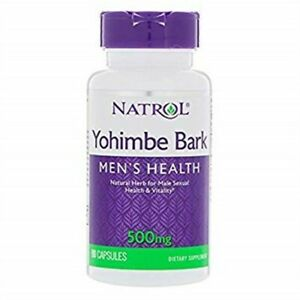 Natrol Yohimbe 500mg Cap-90 500 mg