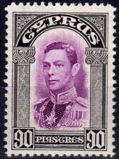 Lightly Hinged George VI (1936-1952) Cypriot Stamps