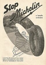 W9216 Pneumatici Stop MICHELIN - Pubblicità del 1940 - Vintage advertising