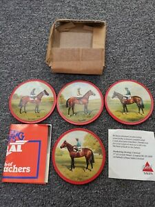 Derby Winners Coasters New in Box - Collectable/Rare? (Horse Racing) Bass Sales