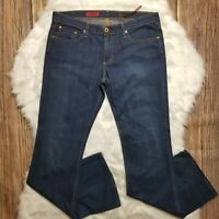 AG Adriano Goldschmied The Angel Jeans Womens Size 31 x 33 Boot Cut Stretch