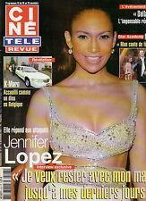 CINE REVUE 2004 N°47 jennifer lopez sophie marceau cornel wilde k-maro a. lualdi