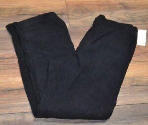 Black Super Soft & Comfy Fleece Pants Soft & Warm Lounge Pants PJ Bottoms
